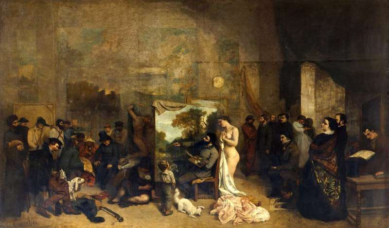 Courbet_L'Atelier_du_peintre