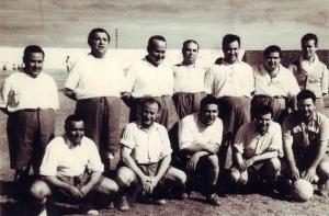 Equipo fútbol los gordos 1958